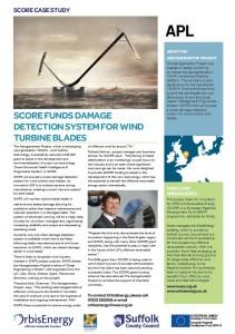 Aerogenerator - Blade Damage Detection