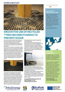 Scour Prevention Systems - Tyre Mats