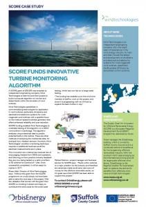 Wind Technologies - Monitoring Algorithm
