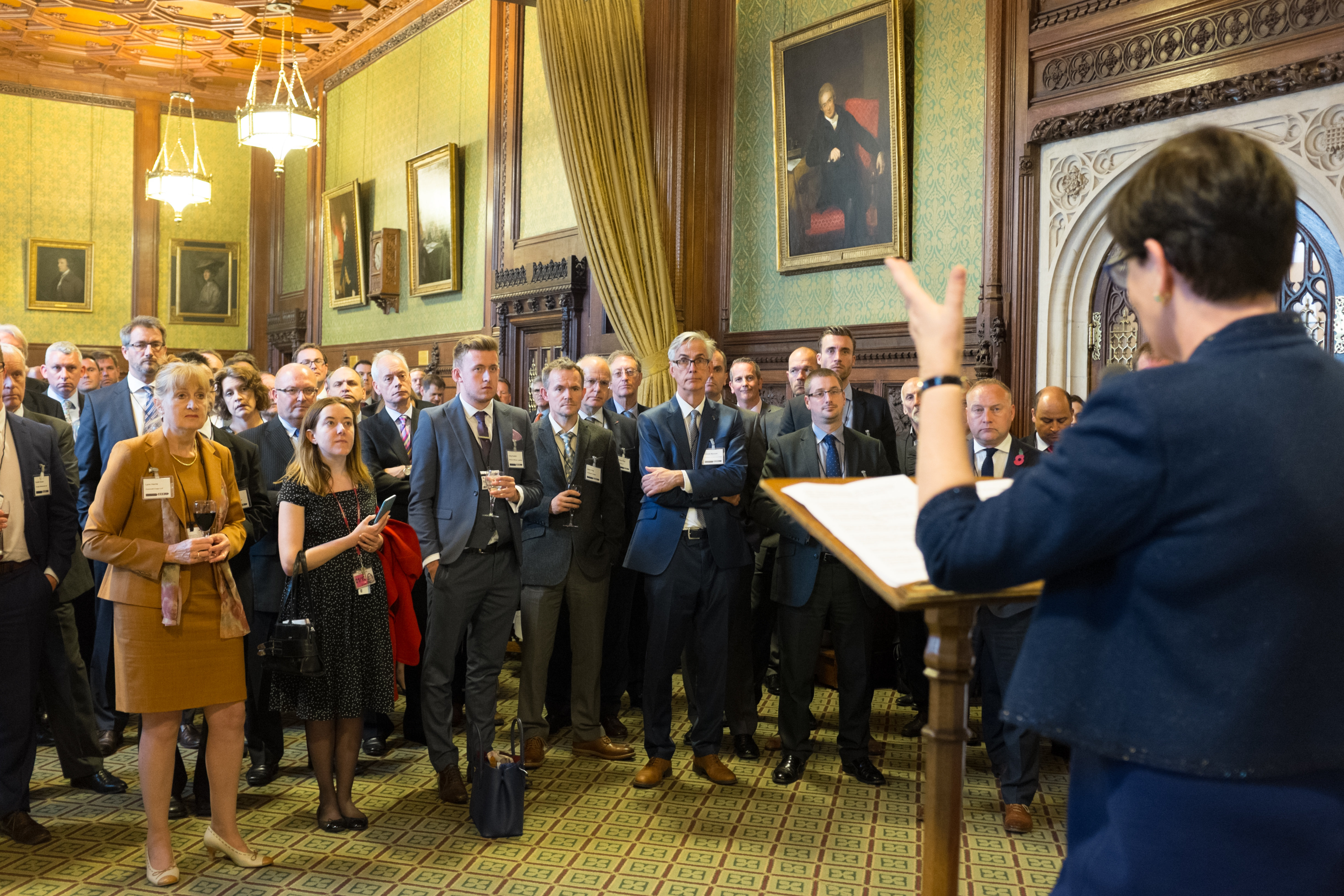 House of commons reception orbisenergy for Dining room c house of commons
